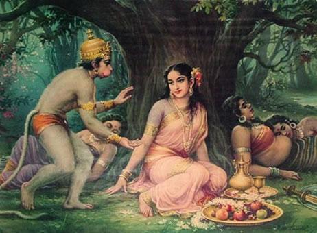 hanuman_sita